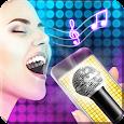 Karaoke voice simulator icon