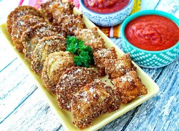 Super Duper Easy Fried Ravioli - Yum! Recipe