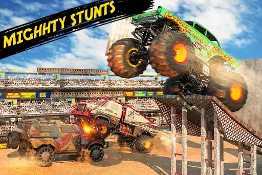 Monster Truck Crash Derby : Fearless Stunts 2019 1.2 screenshots 2