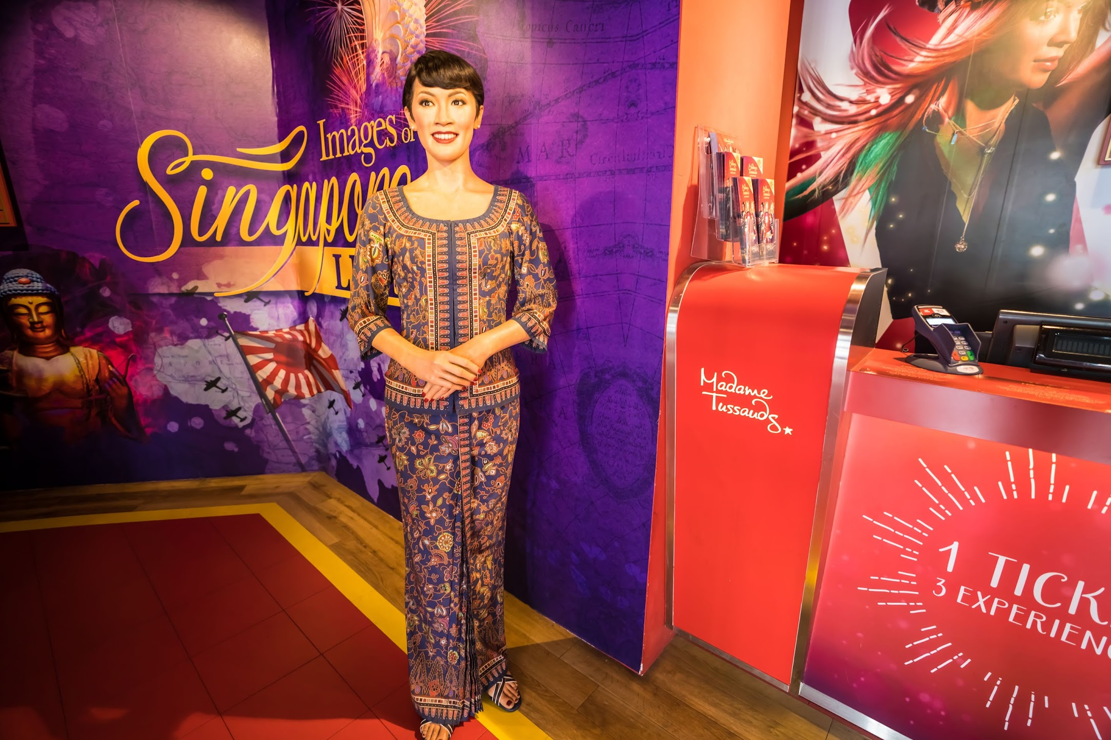 Singapore Sentosa Island Madame Tussauds Singapore Airlines