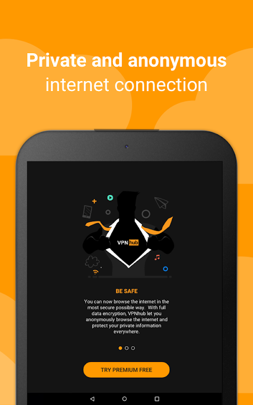 Free VPN - No Logs: VPNhub - Stream, Play, Browse screenshots