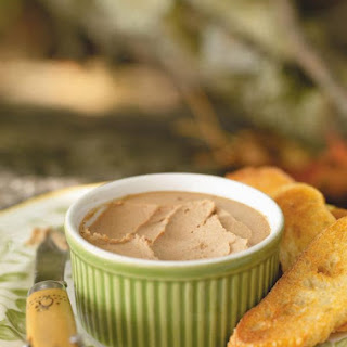 Chicken Liver Mousse with Maple and Brandy.