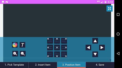 Pembuat kartu nama - kunjungan 3.7 screenshots 5