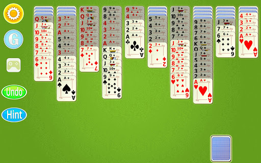 Spider Solitaire Mobile  screenshots 10