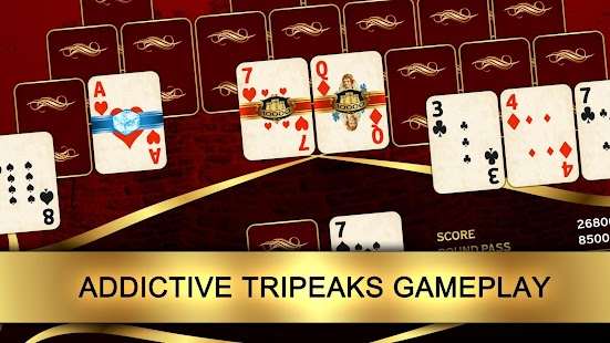 Towers: Tri Peaks Solitaire- screenshot thumbnail