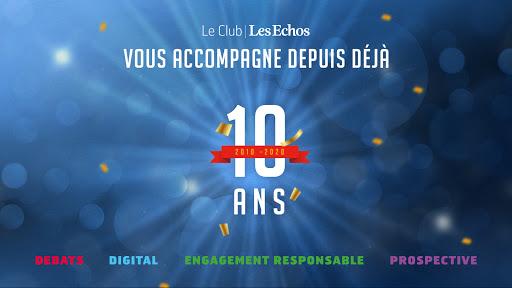 Le Club Les Echos a 10 ans