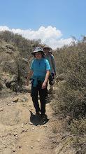 Photo: Acercandonos a la cruz en medio del matorral Mosopuquio - Characato