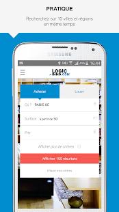 Logic-immo.com- screenshot thumbnail
