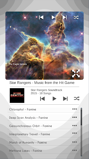 Ambient Space Music Player