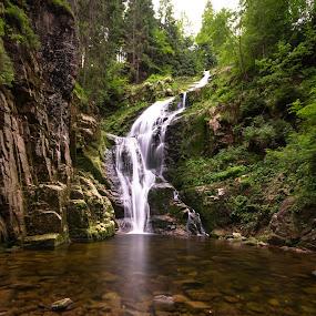 Beautiful Kamieńczyk by Katarzyna Najderek - Landscapes Waterscapes ( beautiful, waterscape, waterfall, poland )