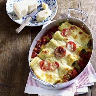 Trout and Asparagus Cannelloni