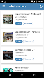 Finland in your palm- screenshot thumbnail