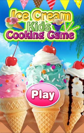 Unicorn Ice cream maker - Summer Fun Kids Game  captures d'écran 1