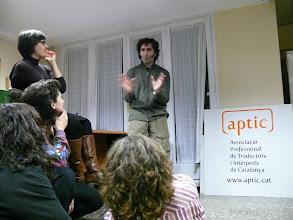 Photo: Vam convidar en Pau Vidal a la inauguració