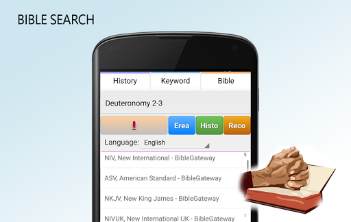Bible Search app (apk) free download for Android/PC/Windows screenshot