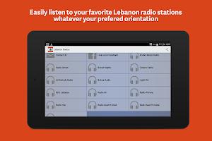 Screenshot of Lebanon Radio
