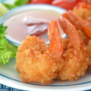 Coconut Beer Shrimp with Sweet and Tangy Dipping Sauce.
