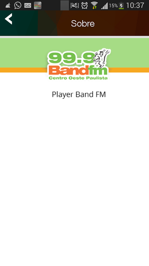 Band FM 99.9- screenshot
