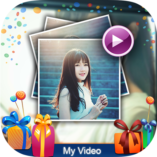 Happy Birthday Video Maker 遊戲 App LOGO-硬是要APP