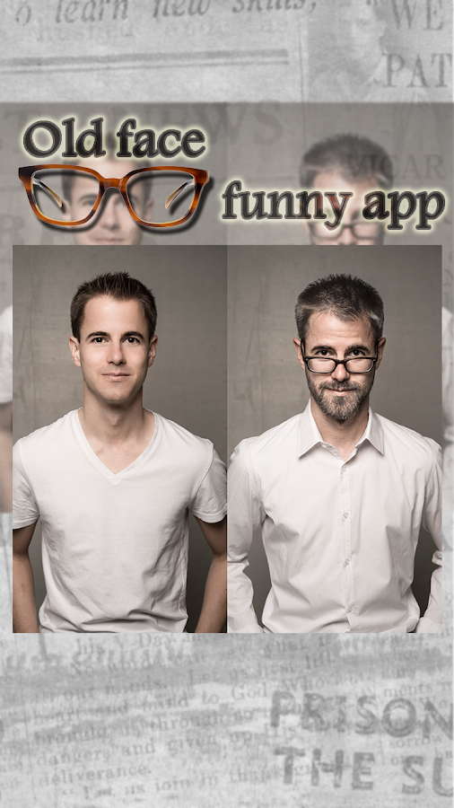 Old Face Aging Booth Funny App- screenshot
