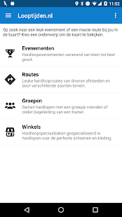 Looptijden.nl GPS hardloop-app Screenshot 4