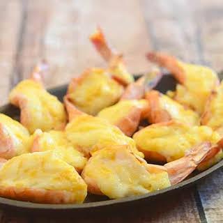 Baked Cheese Shrimp.