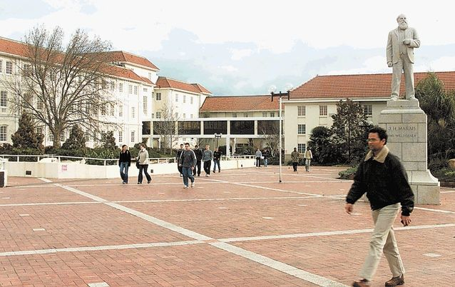 Stellenbosch University. Picture: SUNDAY TIMES