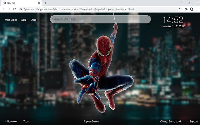 Spiderman Wallpapers New Tab