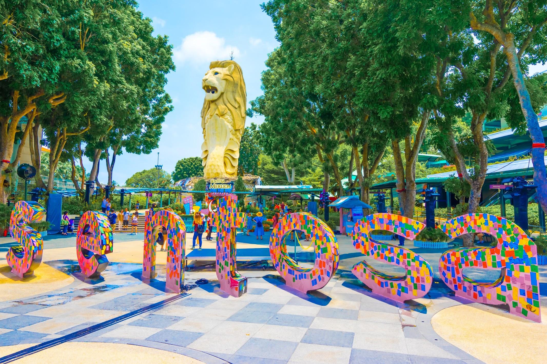 シンガポール セントーサ・マーライオン2