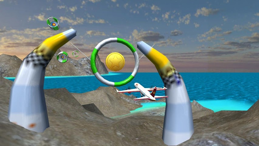 android Airplane Fly Simulator Flight Screenshot 4