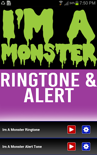 Im a Monster Ringtone Alert