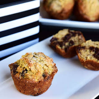 The Best Banana Chocolate Chip Muffins.