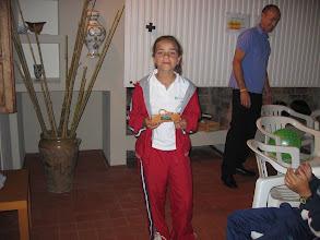 Photo: Delia, campeona del torneo femenino 2006