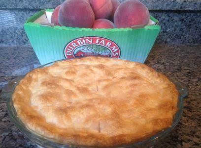 Alabama Peach Pie Recipe