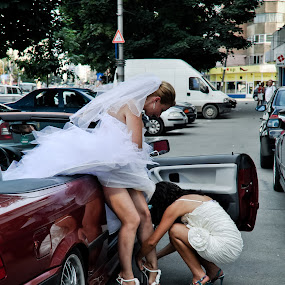 bridal shoe by Cristi Vescan - Wedding Other ( bridal shoe )