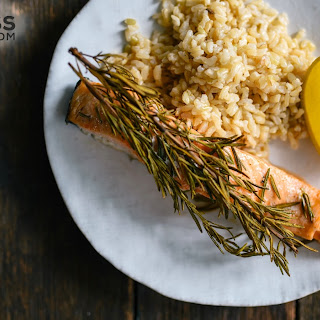 Rosemary-Roasted Salmon - Quick and Healthy Dinner Ideas.