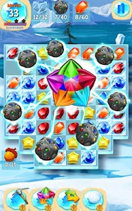Gems Blast For Ice Age v1.0 Mod Money + Lives
