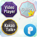 Blue Sky Launcher Theme icon