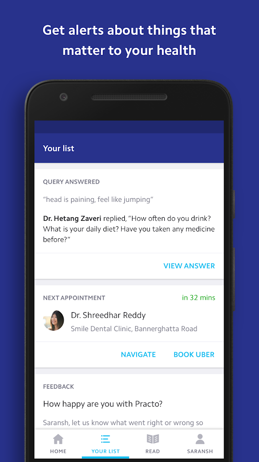 Practo - Your Health App- screenshot