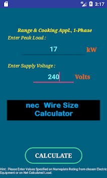 Download nec wire size calculator free apk latest version app for nec wire size calculator free poster nec wire size calculator free poster keyboard keysfo Image collections