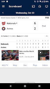 MLB – MOD for Android 3