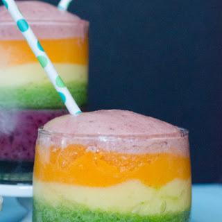 Rainbow Smoothies.