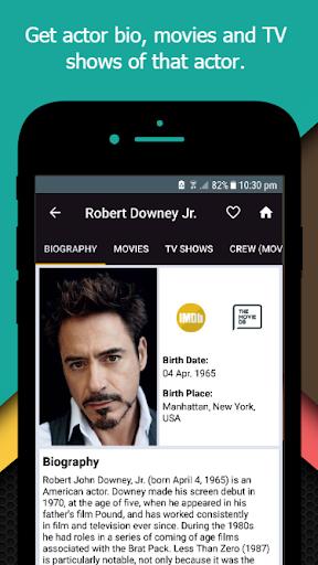 Movie-TV Show Guide (TMDb) 2.3 screenshots 7
