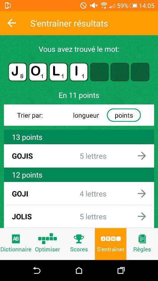 officiel du scrabble larousse - android apps on google play