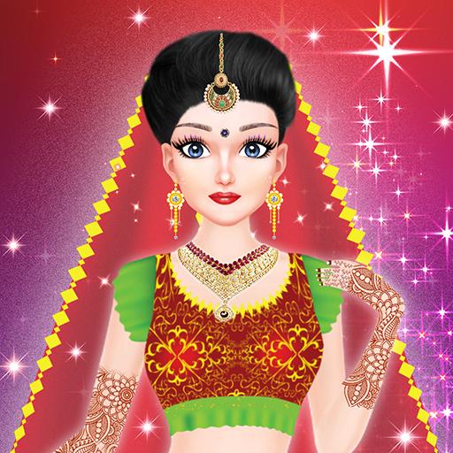 Inidan Wedding Bridal Makeover and Makeup