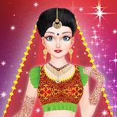 Inidan Wedding Bridal Makeover and Makeup
