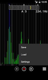 Audio Spectrum Monitor Ekran Görüntüsü