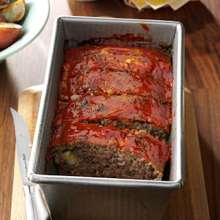 Meat Loaf with Oatmeal.