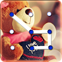 Teddy Bear Pattern Lock Screen icon