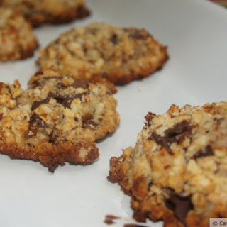 Chunky Chocolate Cookies (paleo/grain-free)